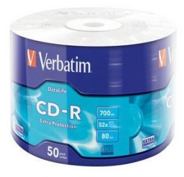 CD-R 52x 700MB 50P SP Extra Protection Wrap 43787